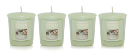 Yankee Candle Alpine Mint Votive Candle - Lot of 4 - $21.50