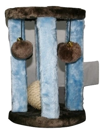 Penn Plax Cat Life Activity Center & Scratching Post New