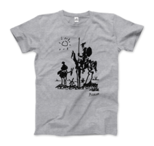 Pablo Picasso Don Quixote of La Mancha 1955 Artwork T-Shirt - $19.75+