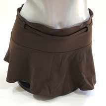 No Boundaries Womens Swim Skirt Coverup Size 3 / 5 Solid Brown - $7.91