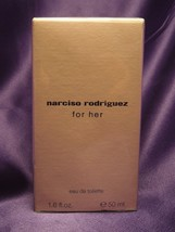 New Sealed Narciso Rodriguez For Her Natural Spray 1.6oz Women's Eau de ... - $57.92