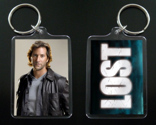Primary image for LOST keychain / keyring DESMOND HUME Henry Ian Cusick #1