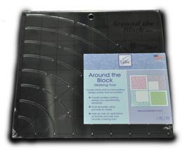 Nähen Around The Block Kennzeichnung Werkzeug für Kurven und Runde JT708 - $20.47