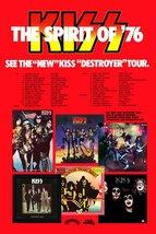 "KISS Band ""Spirit Of '76"" 24 x 36 Custom Destroyer Concert Tour Poster -... - $50.00"