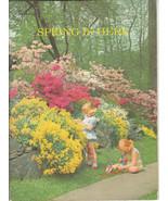 Spring Is Here 1960 Bertha Morris Parker Basic Science Education Series ... - $6.92