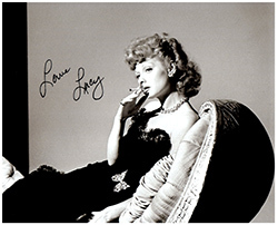 Primary image for LUCILLE BALL  Authentic  Original  SIGNED AUTOGRAPHED PHOTO w/ COA