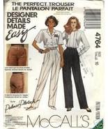 "McCall's 4764 ""Palmer Pletsch"" Misses' Pants Size 16 - $1.75"