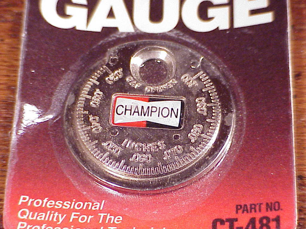 New Champion Taper Gap Gauge, Spark Plug Opener Tool, no. CT-481