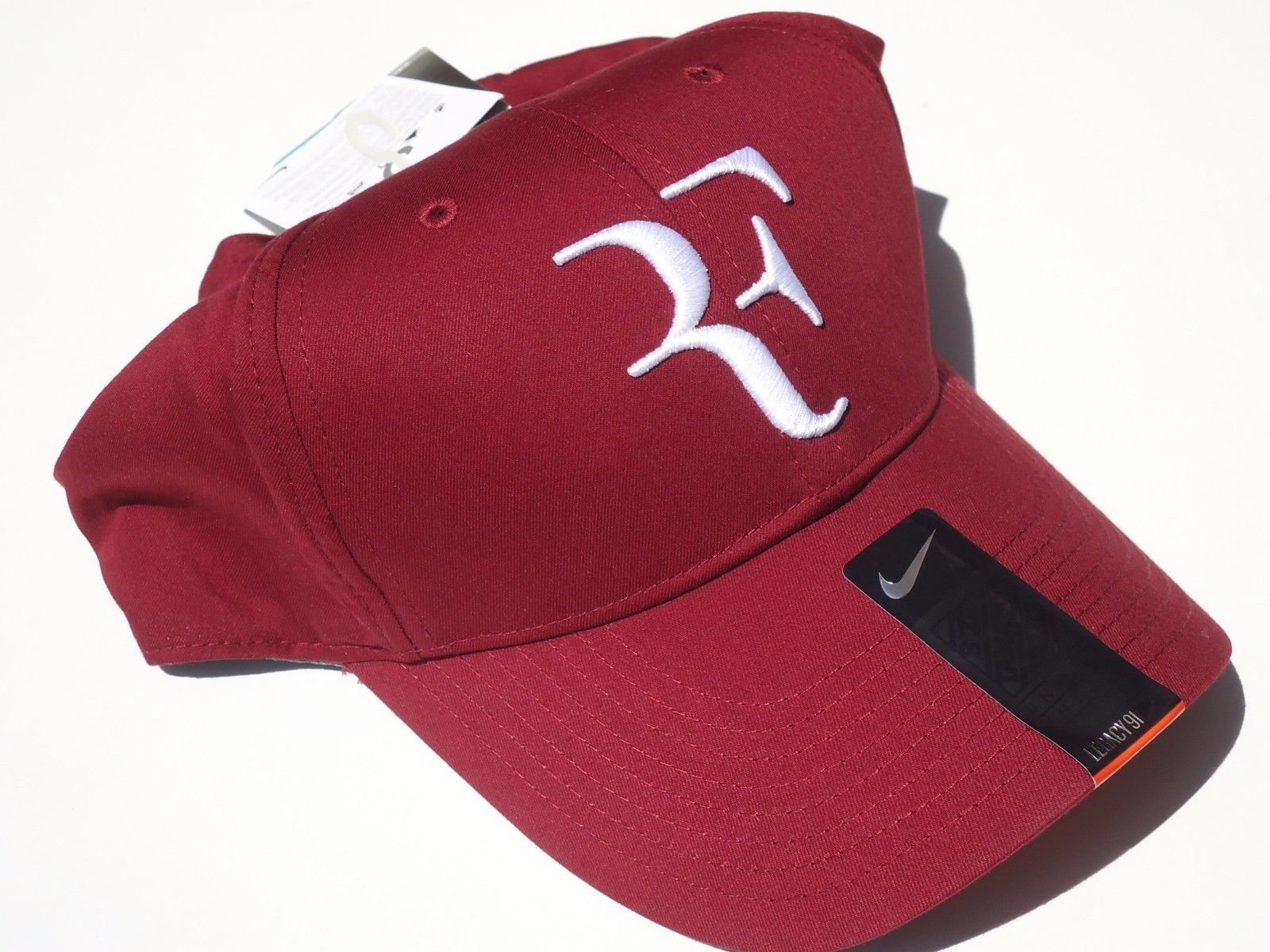 4fdd637abc7 New! Dark Red Nike Men-Women Roger Federer and similar items