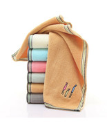 100% Cotton Embroidered Family Pattern Washcloth Bathroom Soft Face Hand... - $2.96+