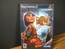 Brave The Search for Spirit Dancer Game PS2 Playstation 2 CIB with manual - $14.63