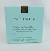 Face Cream Estee Lauder Resilience Multi-Effect Tri-Peptide Face and Nec... - $54.44