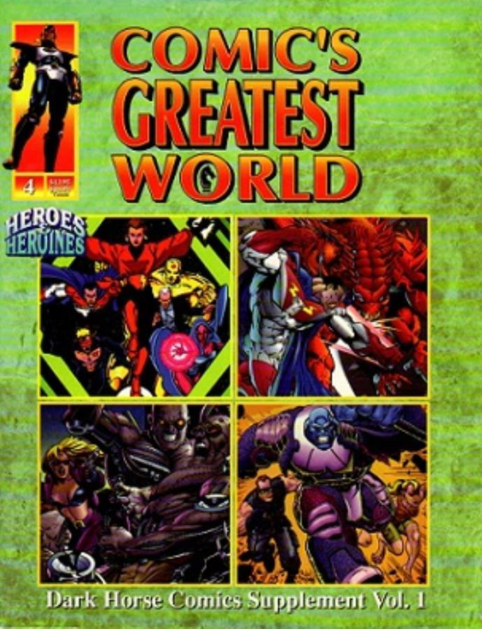 Heroes & Heroines Presents: Comic's Greatest World #4 Dark Horse Comics Vol. 1