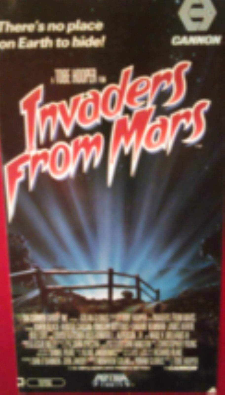 Invaders from Mars Vhs