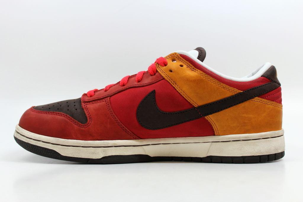18a3166e83b5 ... Nike Dunk Low Premium Cardinal Red Baroque Brown-Orange 309730-621 SZ  11.5 ...