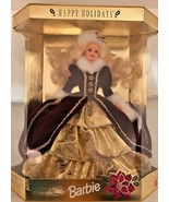 Vintage 1996 Special Edition Happy Holidays Barbie Collector's MINT NRFB - $21.77