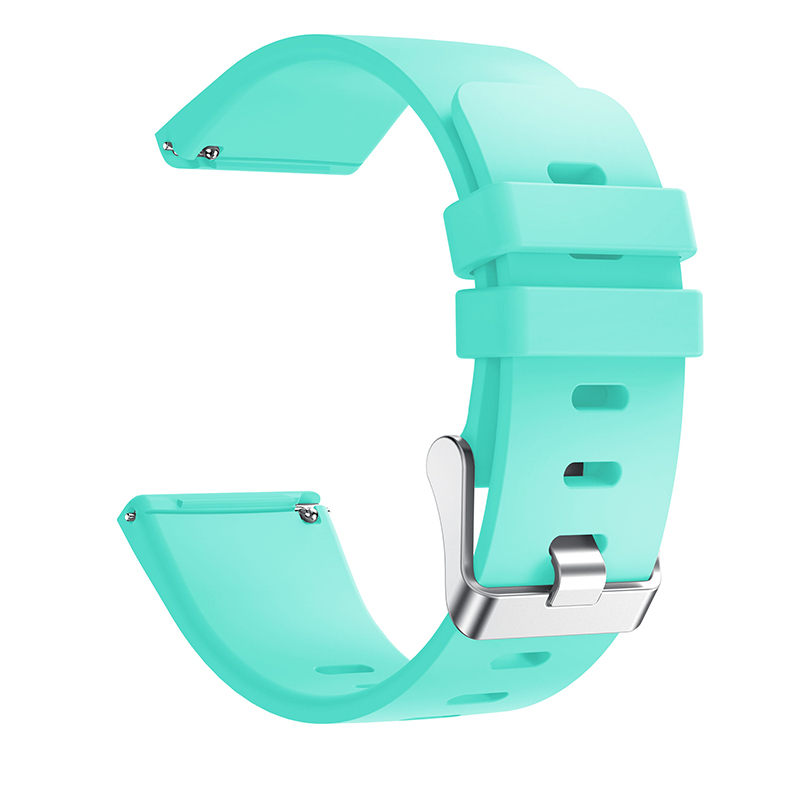 Colorful Silicone Sport Watch Band 23mm Classic Replacement For Fitbit Versa