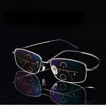 KCASA Progressive Multifocal Reading Glasses Memory Alloy Frame - $38.98