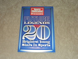 1995 Future Legends The 20 Brightest Young Stars in Sports from Sports I... - $4.99