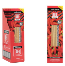 Pack of 8 - Wiltshire Chilli Infused BBQ Skewers - $2.42