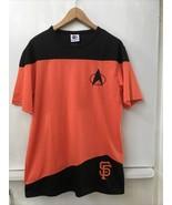 SF Giants Star Trek T Shirt Mens Medium Special Event 9/1/17 - $28.95