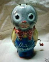 Circa 1953 Peter Cottontail Musical Wind Up Easter Toy - $14.55