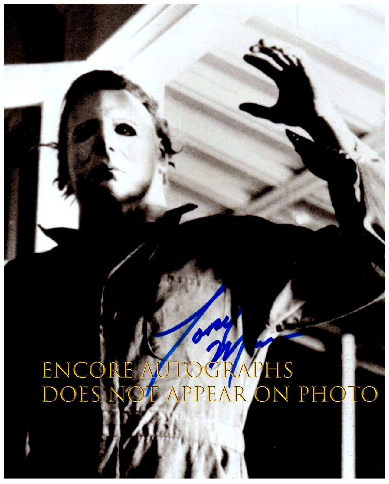 Primary image for TONY MORAN  Authentic Original  SIGNED AUTOGRAPHED 8X10 w/ COA 323