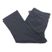 INC Stretch Casual Cropped Pants With Zippers Women's Black Plus Sz 24W ... - $34.64