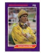 Scott Edward Miller trading card (Horse Racing) 1992 Jockey Star #170 - $4.00