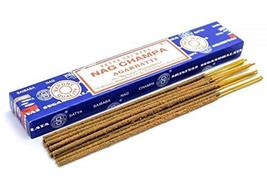ABN Fashion Satya Nag Champa Sticks Incense Natural Fragrance Hand Rolled Indian - $17.54