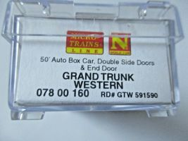 Micro-Trains # 07800160 Grand Trunk Western  50' Auto Box Car N-Scale image 3