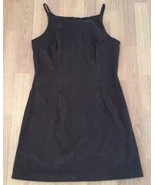 All That Jazz Dress Size 11/12 Brown Suede Like - $20.79
