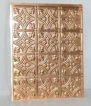 Fasade D6025 Polished Copper Back Splash Panel Set of 5 Pieces image 2
