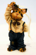 Boyds Bears & Friends - Jasper The Cat  - Holiday Ornament - $15.67