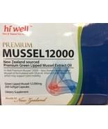 Hi Well Premium Green Lipped Mussel 12000mg 200 Capsules New Zealand Gre... - $154.13