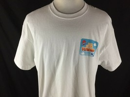 Air Heads Mentos You Chews Summer Adult XL White T Shirt Promotional 2 S... - $24.74
