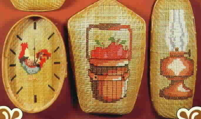 Vintage Country Baskets Cross Stitch from Craft Library