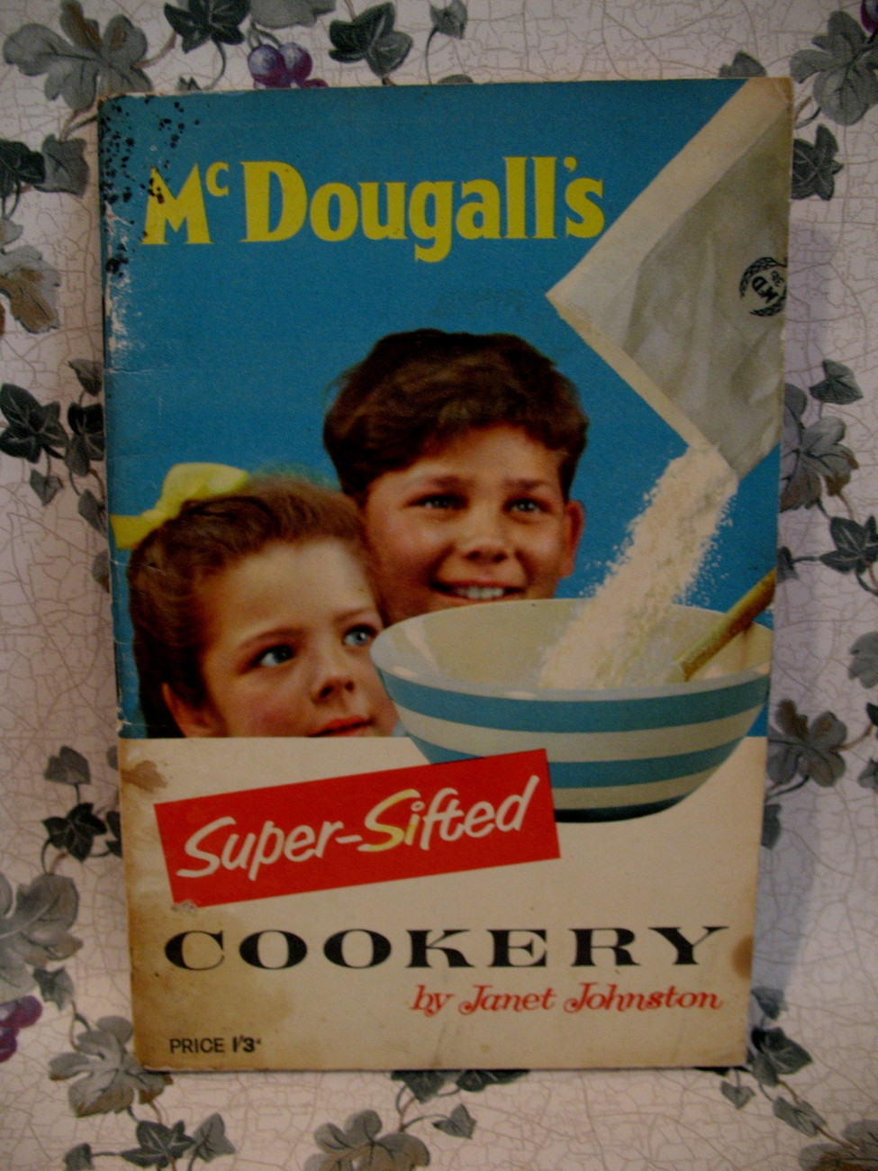 Primary image for Vintage McDougalls Flour Wheatsheaf Mill Cookbook Recipes London England Cookery