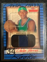 2004-05 Fleer Throwbacks  #80  Devin Harris JERSEY RC  97/499 - $10.88