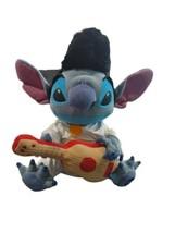 "Disney Lilo & Stitch Elvis Plush 14"" with Guitar Ukulele Disney Store Ex... - $32.30"