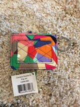 Vera Bradley Pop Art Print Campus Double Id Wallet New Nwt Retail $24 Sold Out - $15.99