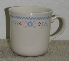 Retired Corelle Corning Needlepoint Coffee Tea Cups  - $1.75
