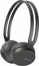 Sony WH-CH400 Wireless Bluetooth Headband Headphones w/Microphone - BLACK - ₹1,173.68 INR