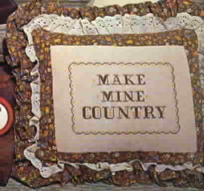 Vintage Country Graphs Cross Stitch by Barbara and Cheryl