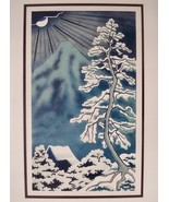 Grace D'Esopo Print title Snowed In Art Home Decor Pencil Signed Ltd Ed ... - $149.00