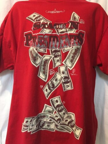 Ruff Ryders Stack'n Presidents T-Shirt XL DMX  image 2