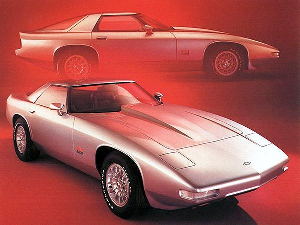 Primary image for 1973 Chevrolet XP 898 Concept Car - Promotional Photo Poster