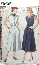VTG Sewing Pattern Simplicity #2390 Size 14 Bust 32 One-Piece Dress 1948 - $20.88