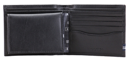 Nautica Men's Genuine Leather Credit Card ID Double Billfold Passcase Wallet image 6