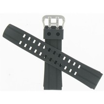 Casio 23mm Black Resin Strap Replacement Watch Band 10242631 - $9.49